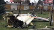 Hiện trường máy bay quân sự Thổ Nhĩ Kỳ lao xuống khu dân cư, vỡ tan tành