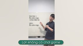 Clip hài: Con trai không biết chơi game là...lợn?