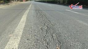 Mặt đường quốc lộ 5 chi chít vết nứt lún, cần hơn 2000 tỷ để 'đại tu'