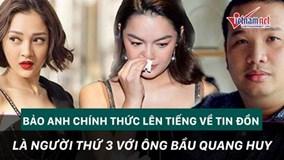 Bảo Anh nói gì về tin đồn phá vỡ hôn nhân Phạm Quỳnh Anh - Quang Huy?