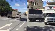 Cảnh sát rượt đuổi xe tải như phim hành động
