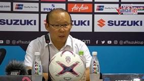 Đánh bại Philippines, HLV Park vẫn nhận đẳng cấp không bằng ông Eriksson