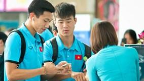 Tuyển Việt Nam sang Malaysia chuẩn bị chung kết lượt đi AFF Cup