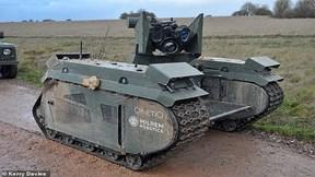 Anh ra mắt xe tăng 'sát thủ' siêu nhỏ, không người lái