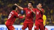 Huy Hùng dứt điểm mở tỉ số cho Việt Nam trên sân Bukit Jalil