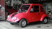 Độc đáo ôtô chạy bằng năng lượng mặt trời của nam sinh lớp 11 Nam Định
