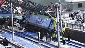 Tai nạn đường sắt thảm khốc ở Thổ Nhĩ Kỳ, hàng chục thương vong