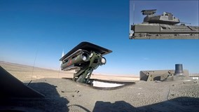 Thiết giáp Namer gây ấn tượng mạnh khi chịu được cả tên lửa chống tăng