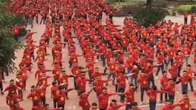 1145 học sinh Hà Nội hát vang 'Việt Nam ơi' cổ vũ tuyển Việt Nam vô địch