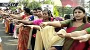 5 triệu phụ nữ Ấn Độ xếp hàng rào dài 620km đòi bình đẳng