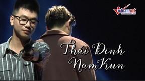 Thái Đinh khóc nức nở khi đêm nhạc thành công ngoài mong đợi