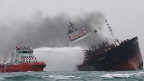 Tàu gắn cờ Việt Nam phát nổ trên biển Hong Kong, 1 người thiệt mạng
