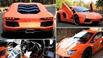 Biến Honda Accord thành siêu xe Lamborghini Aventador