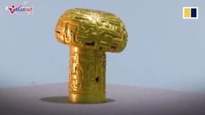 Phát hiện quyền trượng vàng 2.500 năm tuổi