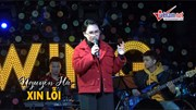 Khán giả say đắm nghe Nguyên Hà hát 'Xin lỗi'