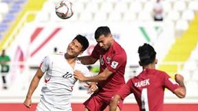 Highlights Triều Tiên 0-6 Qatar: Thắng kiểu tennis, Qatar lấy vé vòng 1/8