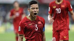 Quế Ngọc Hải bình tĩnh sút phạt đền nâng tỉ số lên 2-0 cho tuyển Việt Nam