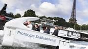 Tới kinh đô ánh sáng Paris trải nghiệm taxi 'bay' trên nước