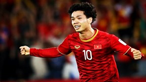 Công Phượng tỏa sáng, ghi bàn gỡ hòa 1-1 cho Việt Nam