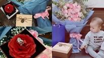Quế Ngọc Hải tặng bà xã hoa khôi nhẫn kim cương dịp kỷ niệm ngày cưới