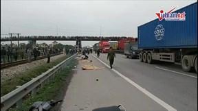 Vụ tai nạn tại Hải Dương: 8 người tử vong là cán bộ xã Kim Lương