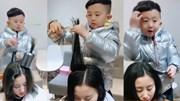 Bé 6 tuổi gây sốt với khả năng tạo mẫu, cắt tóc siêu đẳng cấp