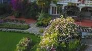 Dành tiền tiết kiệm cả đời để xây khu vườn trong mơ đẹp như cổ tích châu Âu