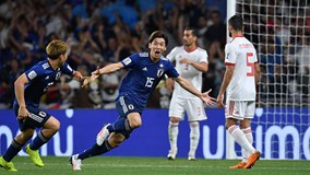Thắng thuyết phục 3-0 trước Iran, Nhật Bản vào chung kết Asian Cup