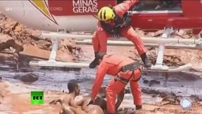 Vỡ đập ở Brazil: Cận cảnh giải cứu người trong lũ bùn
