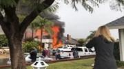 Mỹ: Tai nạn máy bay khiến 5 người thiệt mạng, lửa bao trùm cả khu phố