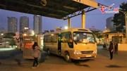 Những chuyến xe cuối cùng đưa người dân về quê ăn Tết