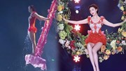 U50 Lâm Chí Linh khoe chân dài miên man trong Gala mừng xuân của Trung Quốc