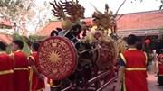 Cận cảnh hai quả pháo 'khủng' trong lễ hội Đồng Kỵ