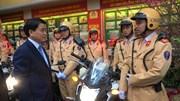 Hà Nội kiểm tra công tác ứng trực đảm bảo an toàn giao thông đầu năm