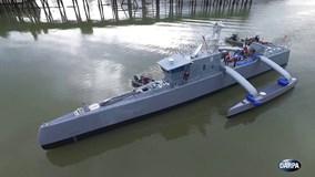 Khám phá tàu săn ngầm không người lái đầu tiên trên thế giới