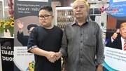 Tiệm tóc Hà Nội cắt miễn phí kiểu đầu ông Trump, ông Kim