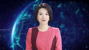 Nữ MC 'trí tuệ nhân tạo' đầu tiên trên thế giới lên sóng