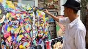 Họa sĩ Việt 'biến hóa' độc đáo chân dung TT Trump và NLĐ Kim