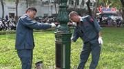 Hà Nội sửa sang đường phố đón hội nghị thượng đỉnh Mỹ - Triều
