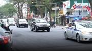 Cận cảnh đoàn xe chở đặc vụ Triều Tiên về khách sạn ở Hà Nội