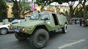Xe bọc thép xuất quân bảo vệ hội nghị thượng đỉnh Mỹ - Triều