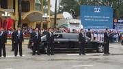 Cận cảnh siêu xe bọc thép tối tân Chủ tịch Kim Jong-un sử dụng tại Việt Nam