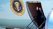 Hình ảnh TT Trump rời Washington, lên đường tới Hà Nội