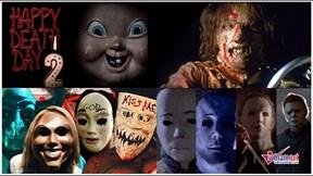Những chiếc mặt nạ sát nhân đầy ám ảnh trên màn ảnh rộng