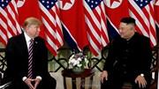 Những hình ảnh đầu tiên của cuộc gặp lần 2 giữa TT Trump và NLĐ Kim
