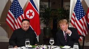 Xem món tây và đặc sản Triều Tiên trong bữa tối của TT Trump và NLĐ Kim