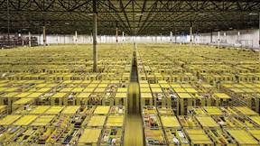Bên trong nhà kho khổng lồ của 'đế chế' thương mại điện tử Amazon