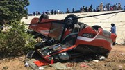 Xe khách lao xuống vực ở Mũi Né, nhiều người bị thương