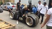 Xem siêu mô tô Tron Light Cycle 2,7 tỷ lăn bánh tại Hà Nội