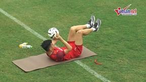 U23 Việt Nam: Quang Hải, Văn Hậu trở lại; Tiến Linh phải tập riêng